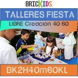 Renta Fiestas 2 horas - 40 niños  Libre creación
