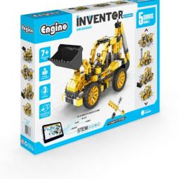 "INVENTOR MECHANICS ""excavator"" with 5 bonus models"