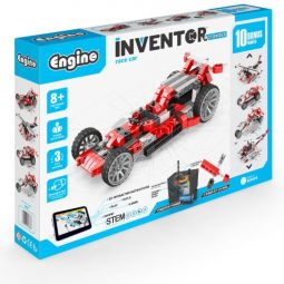 "INVENTOR MOTORIZED ""race car"" with 10 bonus models"
