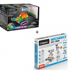 STEM Mecánica nivel 1 + RN Tanque Runner 8 en 1